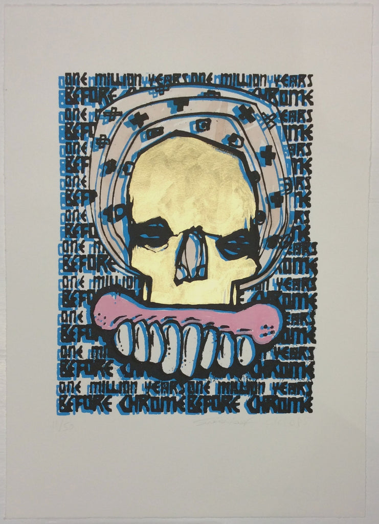 Sweet Toof / Cyclops - One Million BC Hand Finished Signed Print Lucas Price