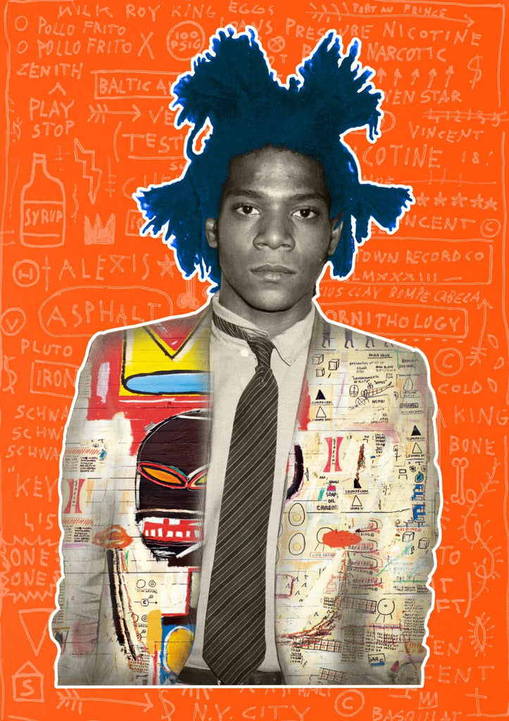 The Postman - Basquiat (Play) - Signed Print
