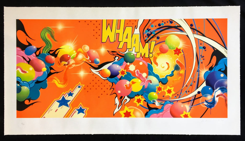 Andrew Mcattee - Marvel - Wham - Signed Print