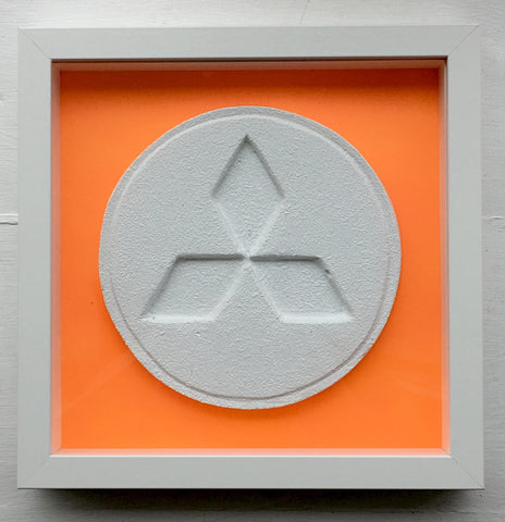 Zeus - Fluoro Orange Mitsubshi - Ecstasy Art Pill