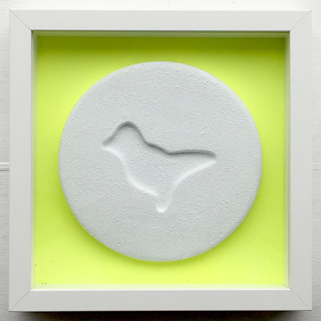 Zeus - Fluoro Yellow Dove - Ecstasy Art Pill
