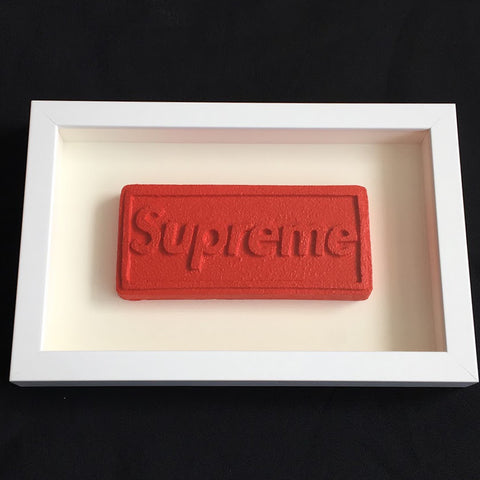 Zeus - Love Is A Drug (Supreme Box Logo)