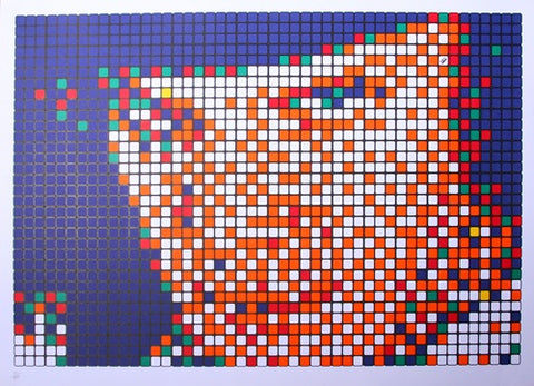 Invader - Rubik Kubrik I (Alex) (Signed)