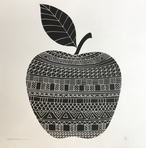 Hello Marine - Apple screenprint