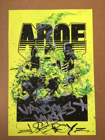 Aroe MSK - Vandals Must Destroy (Yellow)