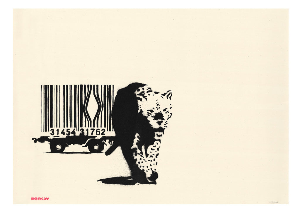 Banksy - Barcode - Mint Unsigned Screenprint with COA