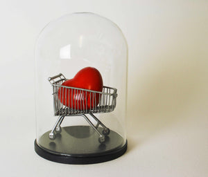 Simon Shepherd -Can't Buy Me Love - Ceramic Heart