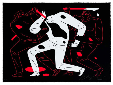Cleon Peterson - The Disappeared (Black)
