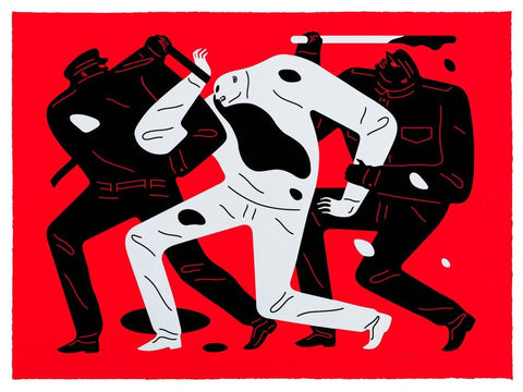 Cleon Peterson - The Disappeared (Red)