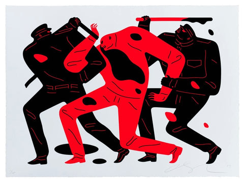Cleon Peterson - The Disappeared (White)