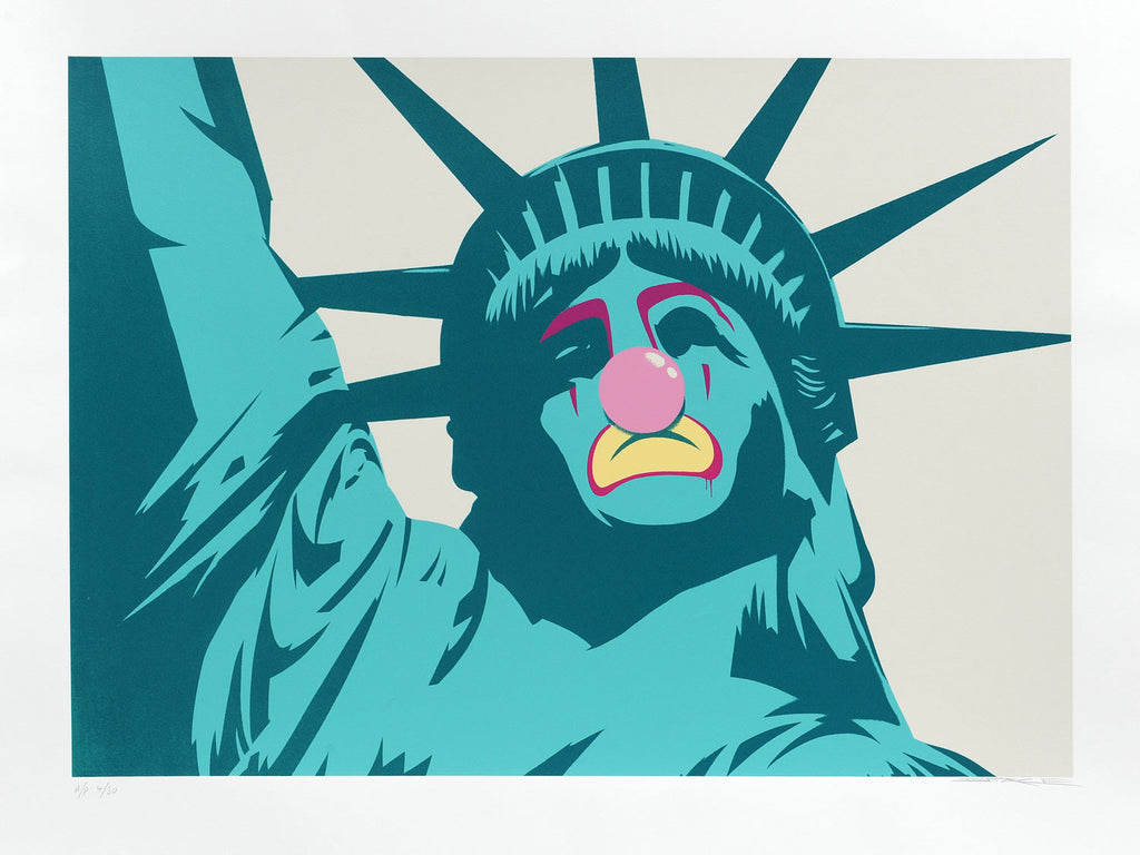 D*Face - Statue Of Liberty - Signed Screenprint
