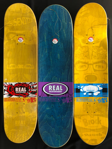 D*Face for REAL Skate Decks