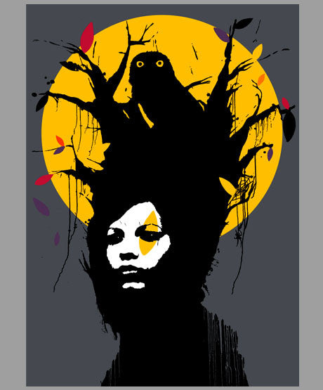 Eelus - Nesting - Signed Screenprint