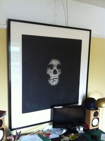 Damien Hirst - I Once Was What You Are, You Will Be What I Am (Skull 1)