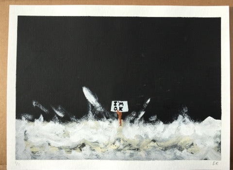 Euan Roberts - I'm OK (Hand Finished - Black)