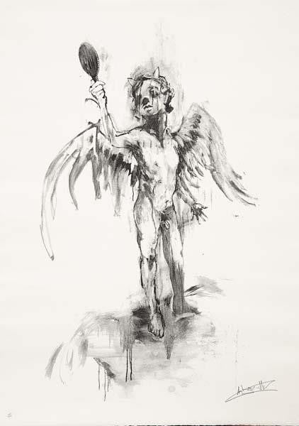 Antony Micallef - God I Want To Be Bad - Signed Pictures On Walls Print