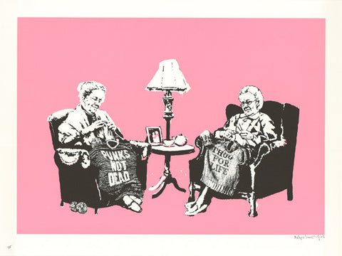 Banksy - Grannies (Signed)