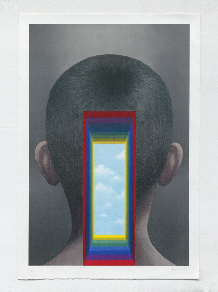 Seth Globepainter - In My Head - Signed Lithograph