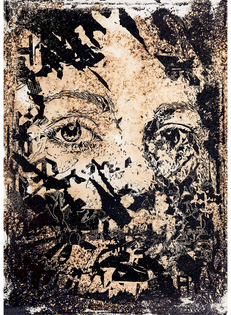 Vhils - Intangible - Signed Artist Proof Screenprint