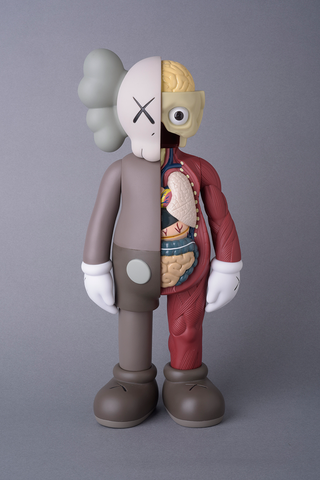 Kaws - Companion (Flayed / Dissected - Brown)