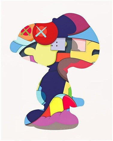 Kaws - No One's Home Screenprint Pace Prints Original Fake