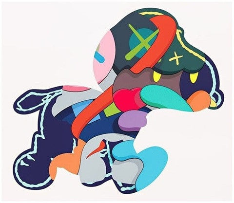 Kaws - Stay Steady Screenprint Pace Prints Original Fake