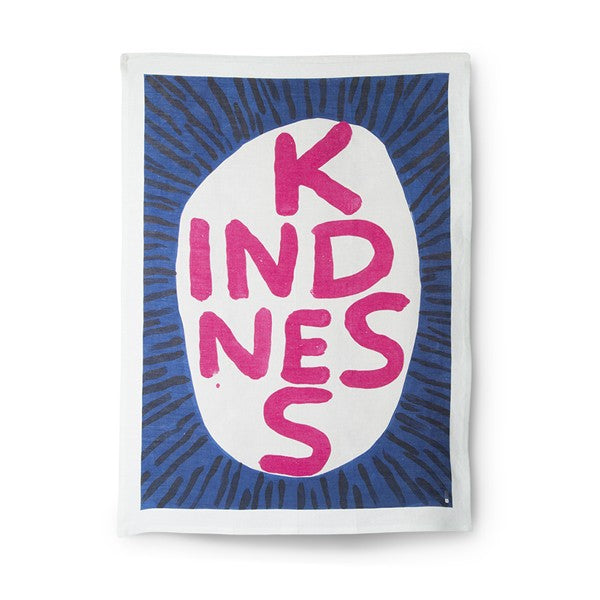 David Shrigley - Kindness - Tea Towel