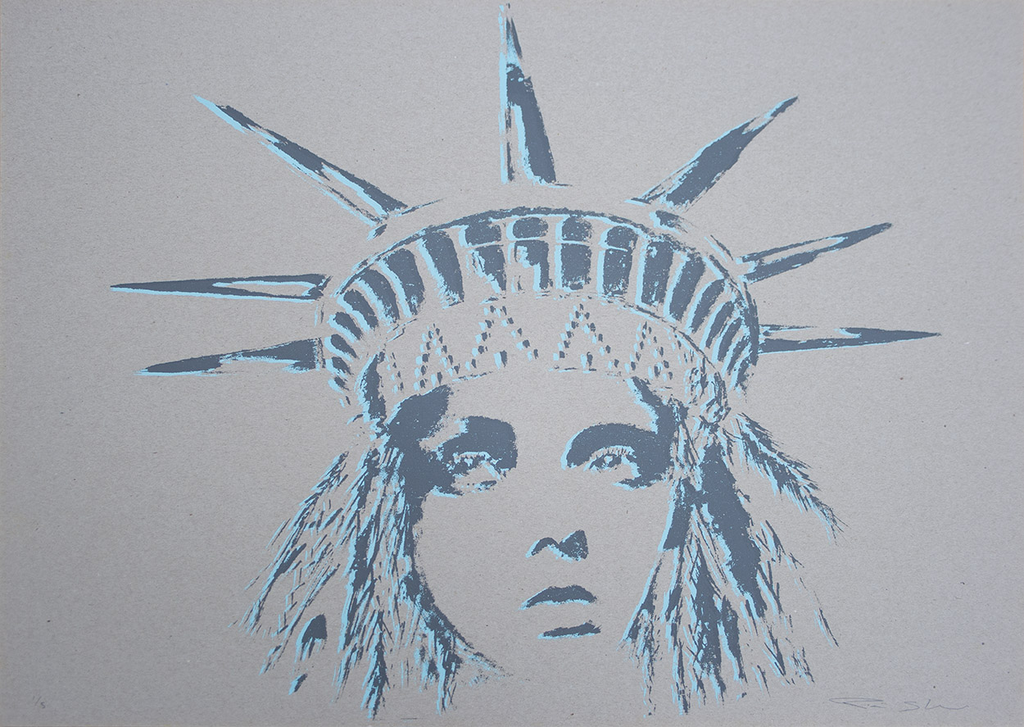 Pam Glew - Liberty Board Signed Original Screenprint