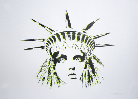 Pam Glew - Liberty (Yellow / Black)