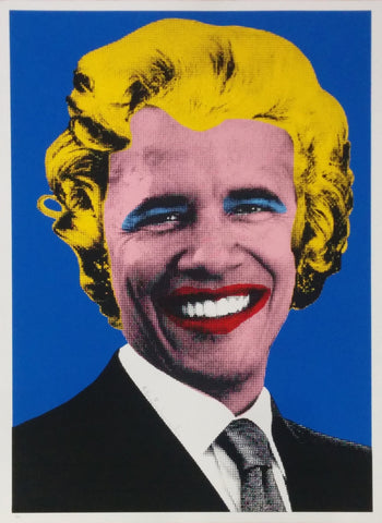 Mr Brainwash - Barack Obama