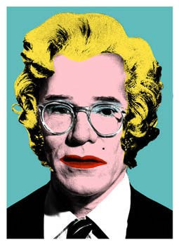 Mr Brainwash - Marilyn Andy Warhol Screenprint