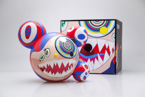 Takashi Murakami - Mr DOB Figure (Red)