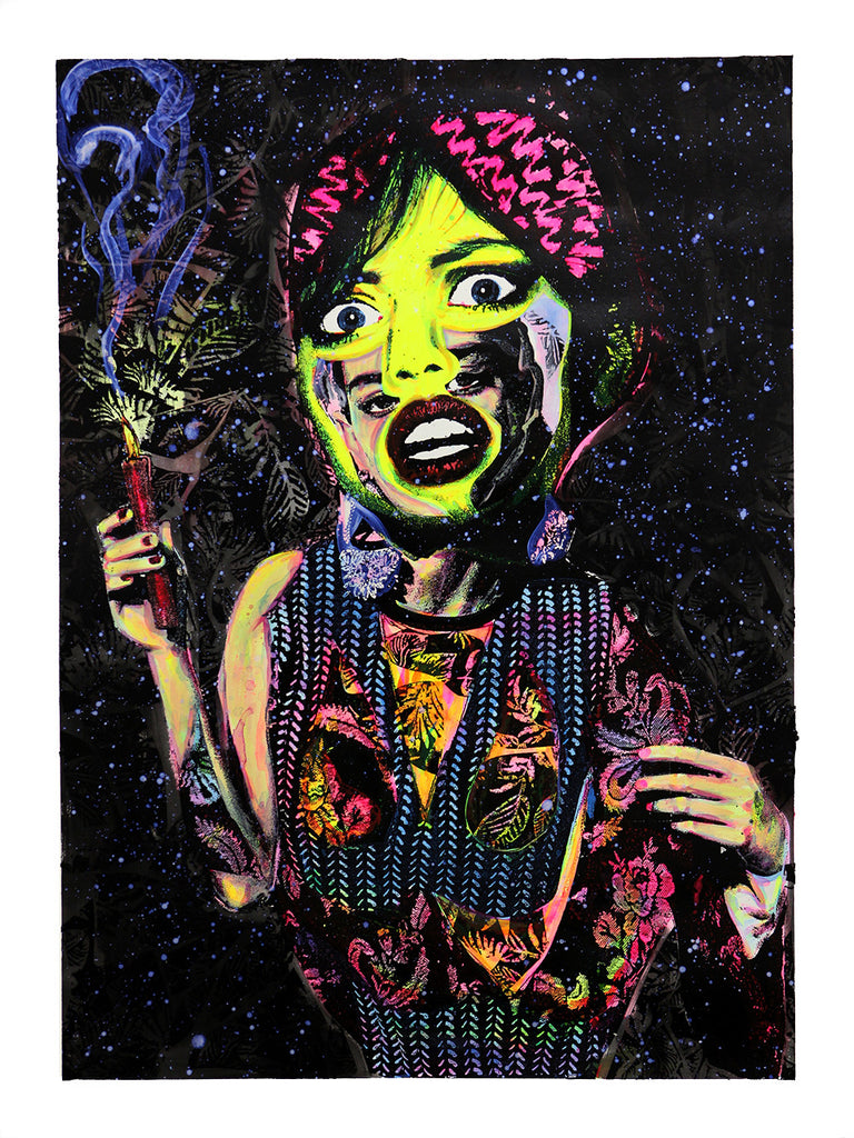 Judith Supine - Night Nurse - Signed Screenprint