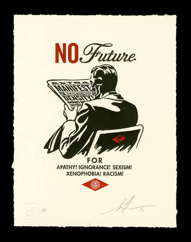 Shepard Fairey - No Future