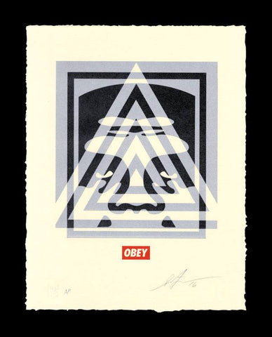 Shepard Fairey - Pyramid Top Icon
