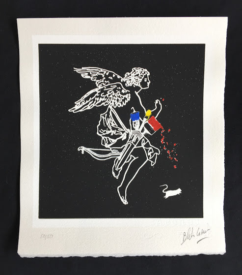 Blek Le Rat - Out Of Weapons - Screenprint