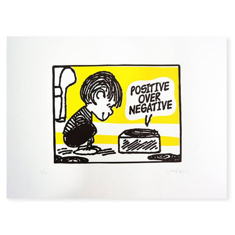 Mark Drew - Positive Over Negative (Yellow)