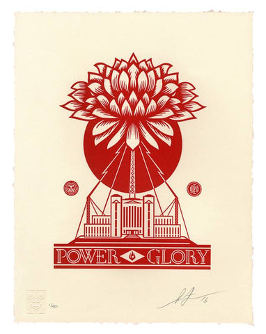 Shepard Fairey - Power & Glory