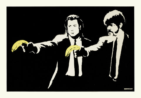 Banksy - Pulp Fiction (Unsigned)