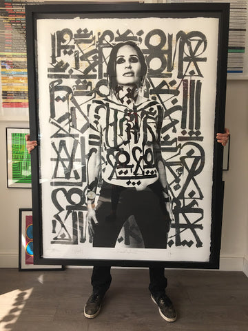 Retna - When Judgement Ends (Huge Hand-Painted Multiple!)