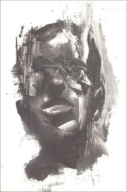 Antony Micallef - Self Portrait - Signed Lithograph