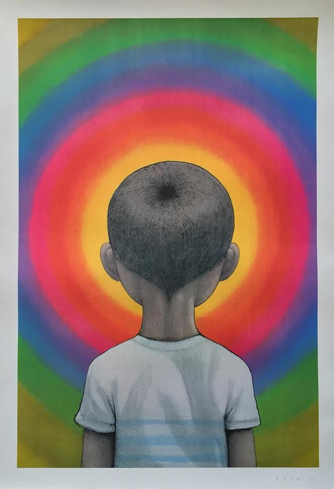 Seth Globepainter - Enter The Vortex Signed Lithograph Print
