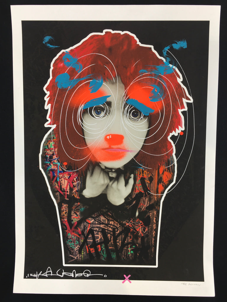The Postman X Stevie Unknown - Siouxsie and The Banshees (1/1 Hand-Painted Screenprint)