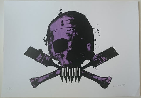 Paul Insect - POW Skull (Purple)