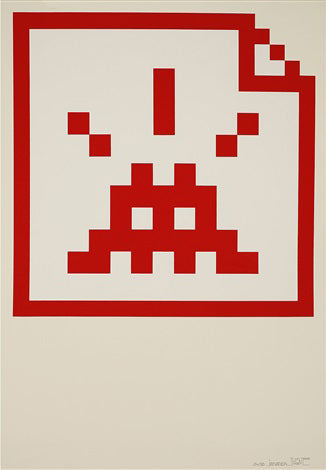 Invader - Space File (Red)