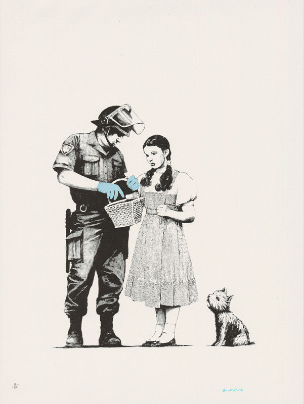 Banksy - Stop & Search - Signed Print / Screenprint