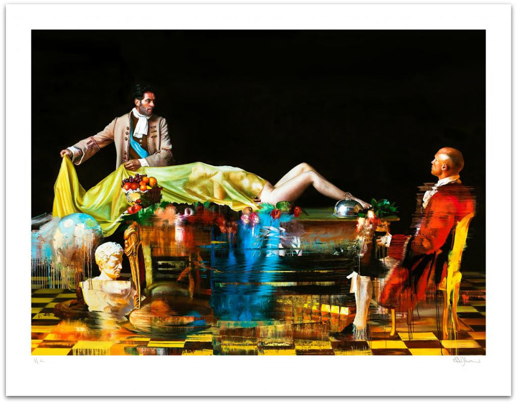 Conor Harrington - The Unveiling - Signed Giclee Print