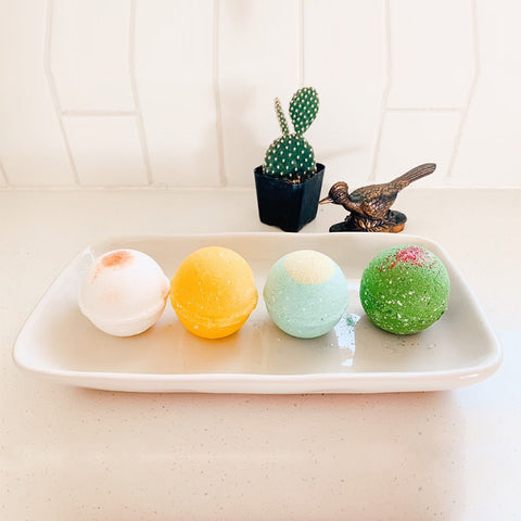 Earthy & Fruity Bath Bomb Collection