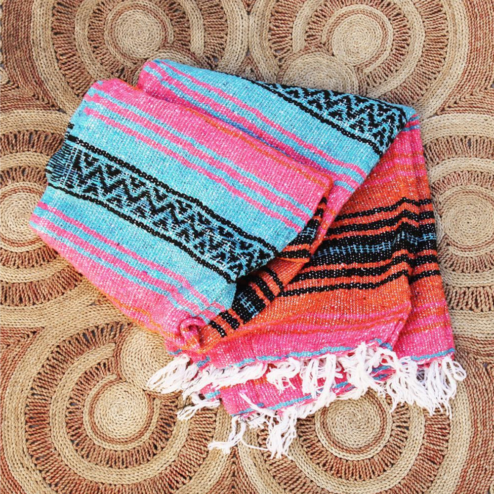 Sunrise Mexican Blanket