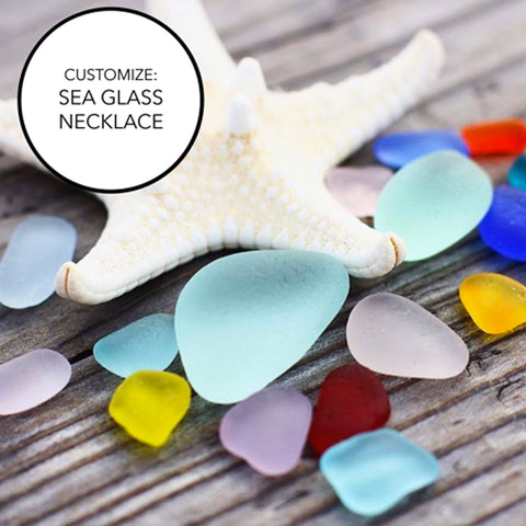 Send in Your Sea Glass: Customize Necklace